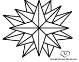 <span class='hidden-xs'>Coloriage de </span>Astre qui brille à colorier