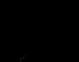 <span class='hidden-xs'>Coloriage de </span>Astronaute avec fusée à colorier