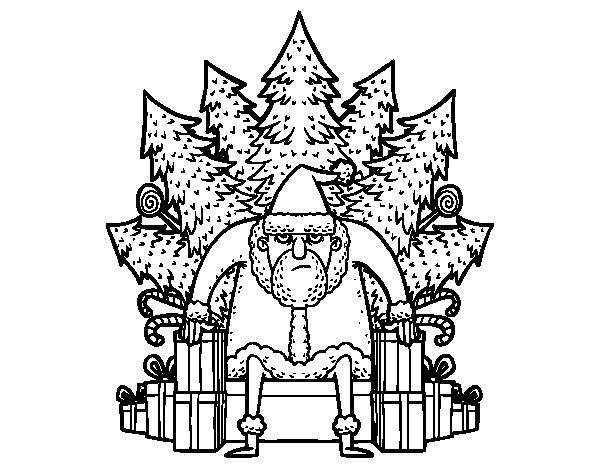 Coloriage de Game of Thrones Noël pour Colorier