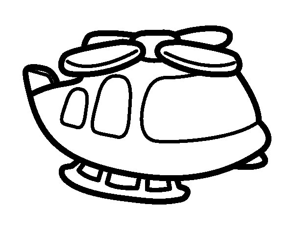 Coloriage de grand h licopt re pour colorier - Coloriage helicoptere cars ...