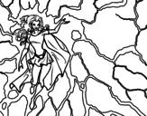 <span class='hidden-xs'>Coloriage de </span>Héroïne Tornade à colorier