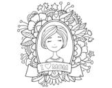 <span class='hidden-xs'>Coloriage de </span>Hommage à toutes les mères à colorier
