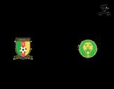 <span class='hidden-xs'>Coloriage de </span>Maillot de la coupe du monde 2014 du Cameroun à colorier