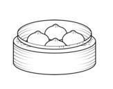 Dibujo de Nikuman