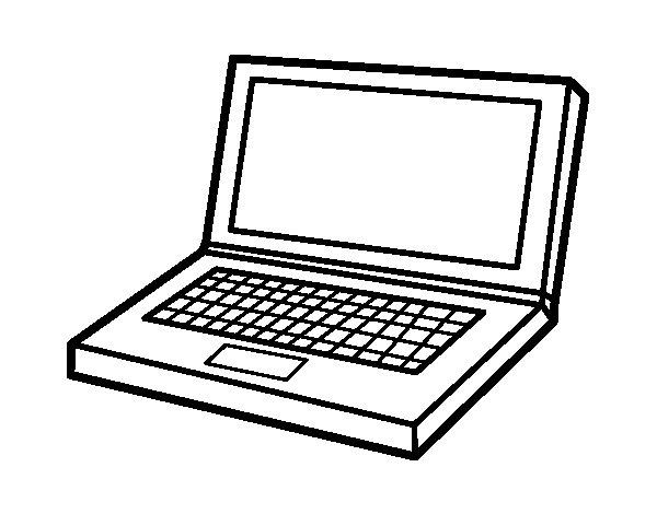Coloriage de ordinateur personnel pour colorier - Dessin a colorier sur ordinateur ...