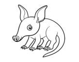 Dibujo de Oryctérope du Cap