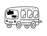 <span class='hidden-xs'>Coloriage de </span>Un autobus scolaire à colorier