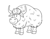 <span class='hidden-xs'>Coloriage de </span>Un buffle à colorier