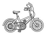 <span class='hidden-xs'>Coloriage de </span>Vélo pour enfants à colorier