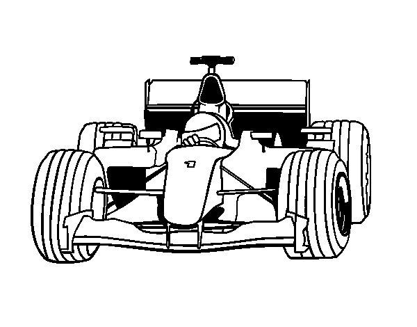 formule 1 max verstappen kleurplaat coloriage voiture de