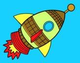 Fusée d'espace