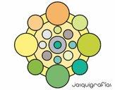 Mandala avec le cycle