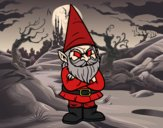 Coloriage Gnome grognon colorié par EloMunoz66