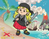 Fille pirate