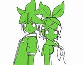 Len et Rin Kagamine Vocaloid