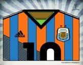Maillot de la coupe du monde 2014 de l'Argentine