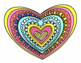 Mandala cœur