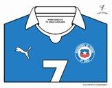 Maillot de la coupe du monde 2014 du Chili
