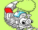 Train souriant