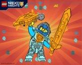 Coloriage Clay Nexo Knights colorié par vivijoe