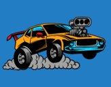 Sportif muscle car
