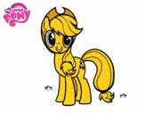 Coloriage Applejack My Little Pony colorié par raphael