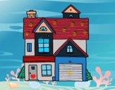 Maison de famille américaine