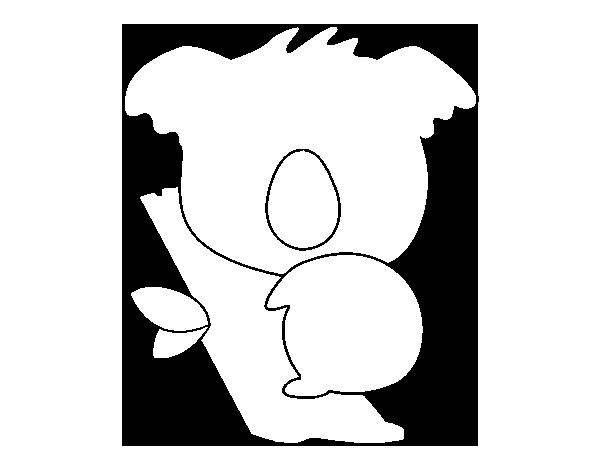 Coloriage De Bébé Koala Pour Colorier Coloritou Com