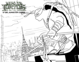 <span class='hidden-xs'>Coloriage de </span>Leonardo Ninja Turtles à colorier