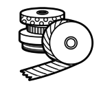 <span class='hidden-xs'>Coloriage de </span>Washi Tape à colorier