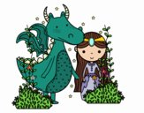 Dragon et princese